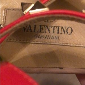 Valentino Shoes - Valentino Rockstud leather sandals
